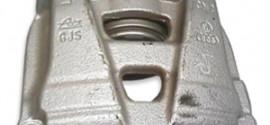 Суппорт тормозной передний правый VW Tiguan (2011-2015)