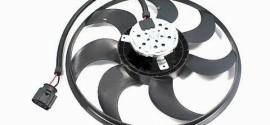 Вентилятор радиатора охлаждения VW Polo sedan (2011-2015)