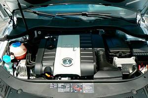 двигатель пассат б6
